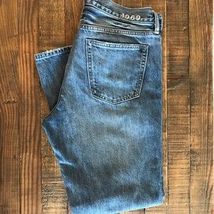 Men's Gap 1969 Button Fly Standard Jeans 34x30